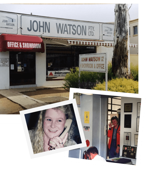 Shop & Showroom, Watson Blinds is Born