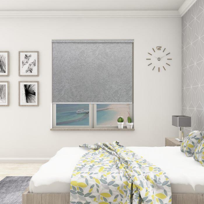 Romany Light Grey Blockout